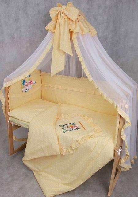 Своими руками балдахин для детской кроватки и бортики в