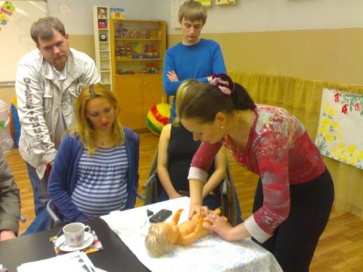 Курсы для беременных при русском музее 79