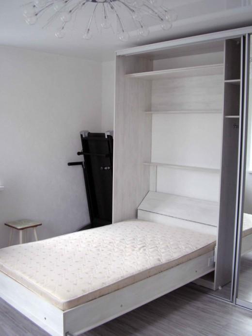 Откидная кровать встроенная в шкаф - отличное качество и оригинальность почему купить