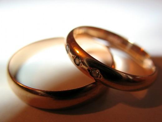 Свадебные изделия из золота